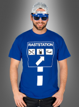 Raststation T-Shirt Junggesellenabschied