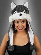 Husky Plush Hat