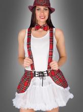 Sexy Schottenrock Petticoat