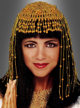 Cleopatra beaded Headpiece