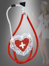 Stethoskop für Krankenschwester Kostüm