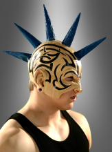 Irokesen Punk Halbmaske
