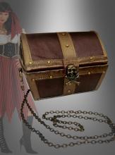 Piratin Schatzkiste Handtasche