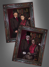 Halloween Picture Victorian Couple