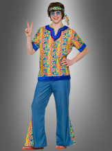Teen Far out Dude Hippie costume