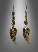 Wing Earrings Steampunk