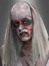 Zombie Perücke mit Halbglatze