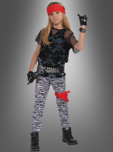Rock Star Children Costume