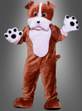 Hundekostüm Bulldogge Maskottchen
