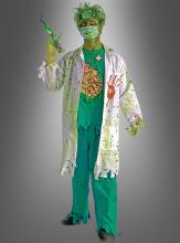 Halloween Zombie verseuchter Doktor