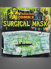 Biohazard Zombie Surgical Mask