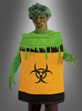 Biohazard Zombie Toxic Waste Container