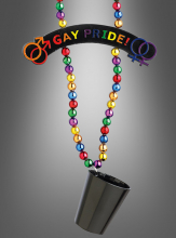 Rainbow Beads Gay Pride