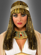 Goldene Cleopatra Perücke