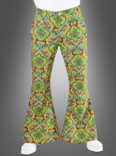 60s Flares for Men green