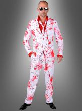 Blutiger Anzug für Herren