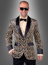 Jackett mit Leopardenmuster