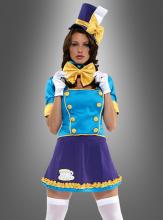 Sexy verrückte Hutmacherin Kostüm