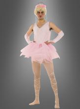 Rosa Ballerina Kostüm für Männerballett