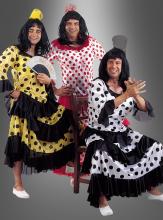 Spanierin Flamenco Männerkostüm