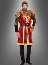 Königliches Ritterkostüm in Gold