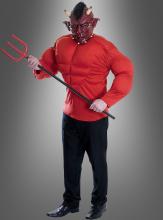 Teufel Verkleidung mit Maske
