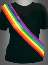 Regenbogen Schärpe