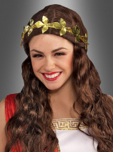 Gold Leaf Metal Headband