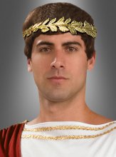 Lorbeerkranz für Römer aus Metall