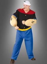 XXL Popeye Kostüm Seemann