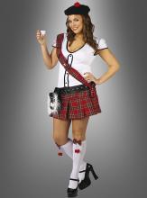 XXL Schottin Kostüm