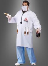 XXL Impfdoktor Spaßkostüm