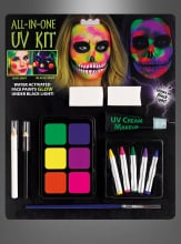 UV Schminke Set