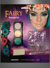 Fairy Makeup with Flower Headband