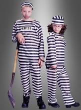 Jailbird children costume