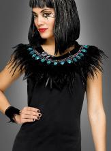 Cleopatra Halsschmuck und Armbänder