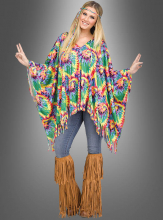 Colourful Hippie Poncho
