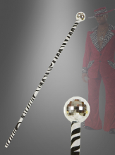 Zebra Pimp Walking Cane