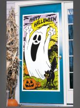 Türposter Halloween Geist
