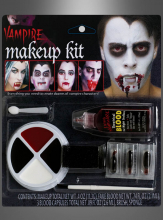 Makeup Set dunkler Vampir