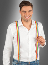 Suspenders Rainbow Colour