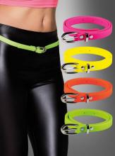 80s belt slim neon