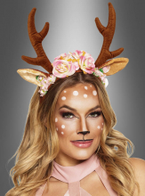 Lovely Deer Antlers Headpiece