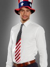 USA Krawatte Amerikanische Flagge