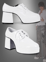 Platform Shoes for Men White