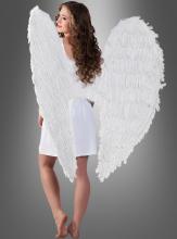 Riesige Engelsflügel weiß 120 cm