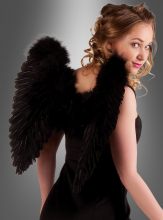 Gothic Angel Wings black