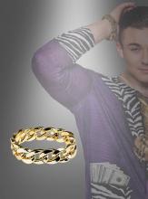 Goldenes Armband Herren