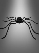 Schwarze Spinne 120 cm