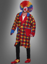 Circus Clown Costume for Men